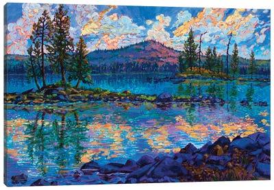 Evening Song Canvas Art Print