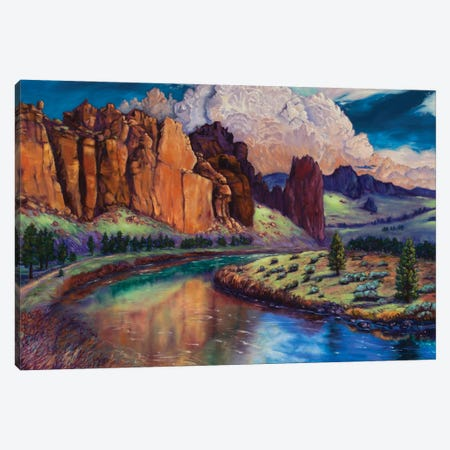 High Desert Castles Canvas Print #RBC23} by Rebecca Baldwin Canvas Art Print