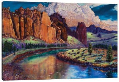 High Desert Castles Canvas Art Print