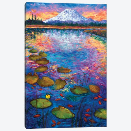 Hosmer Lake Canvas Print #RBC24} by Rebecca Baldwin Canvas Art