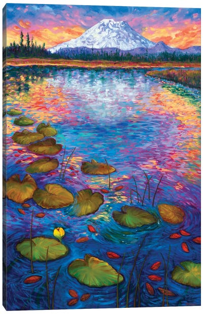 Hosmer Lake Canvas Art Print