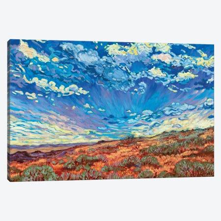 High Desert Sky Canvas Print #RBC25} by Rebecca Baldwin Canvas Artwork