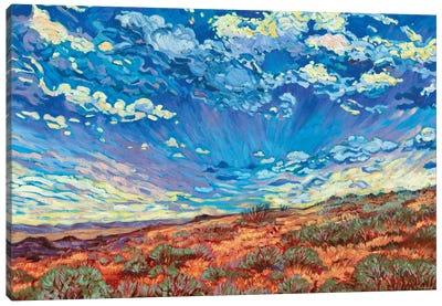 High Desert Sky Canvas Art Print