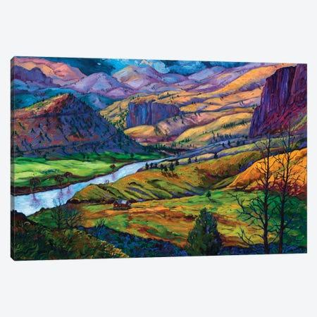 John Day River Canvas Print #RBC26} by Rebecca Baldwin Canvas Artwork