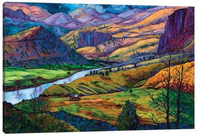 John Day River Canvas Art Print