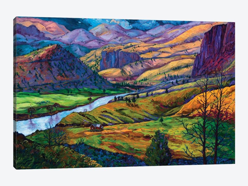 John Day River by Rebecca Baldwin 1-piece Canvas Print