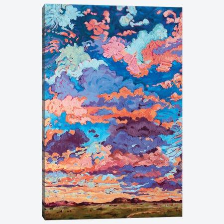 Kaleidoscope Sky Canvas Print #RBC27} by Rebecca Baldwin Canvas Wall Art