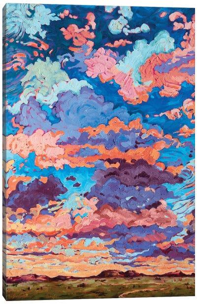 Kaleidoscope Sky Canvas Art Print