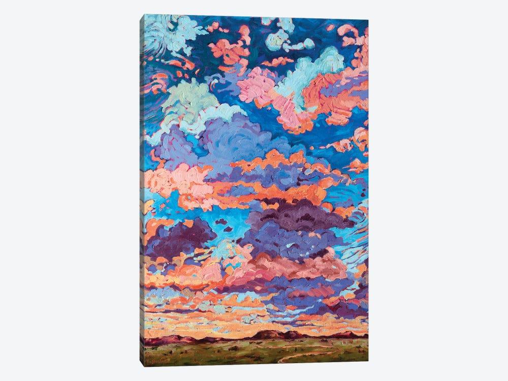 Kaleidoscope Sky by Rebecca Baldwin 1-piece Canvas Art