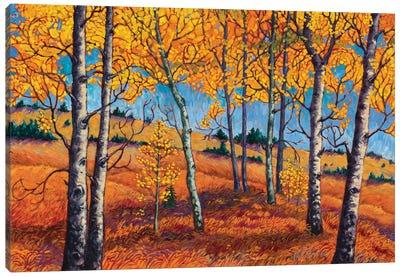 Leaf Mosaic Canvas Art Print