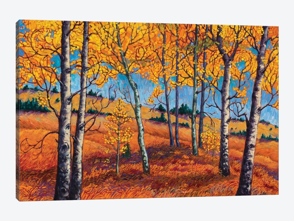 Leaf Mosaic by Rebecca Baldwin 1-piece Canvas Wall Art