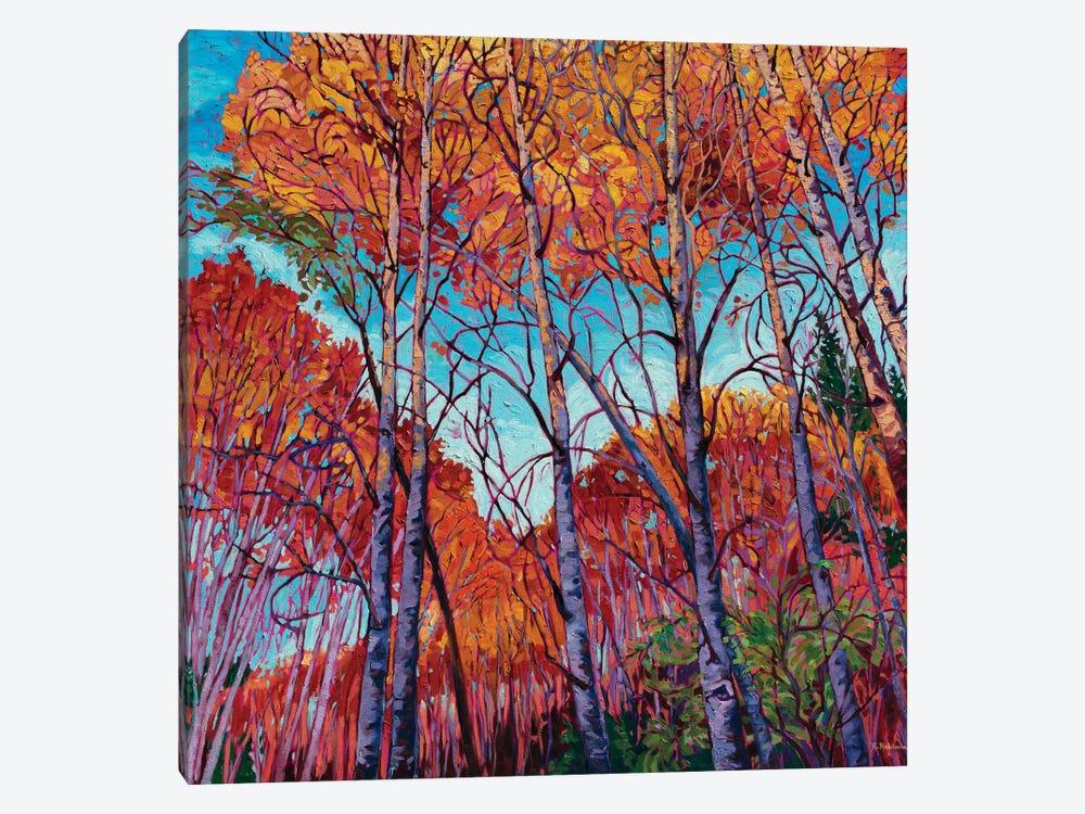 Autumn Song by Rebecca Baldwin 1-piece Canvas Art Print