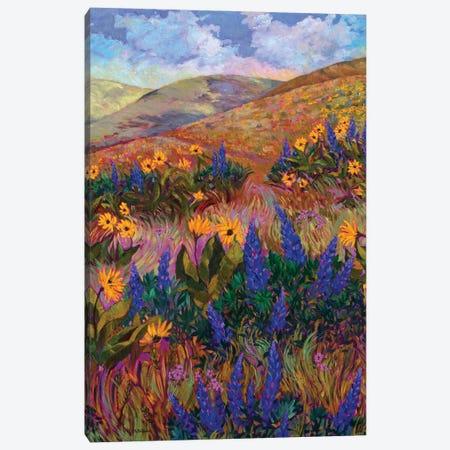 Columbia River Hills Canvas Print #RBC30} by Rebecca Baldwin Canvas Artwork