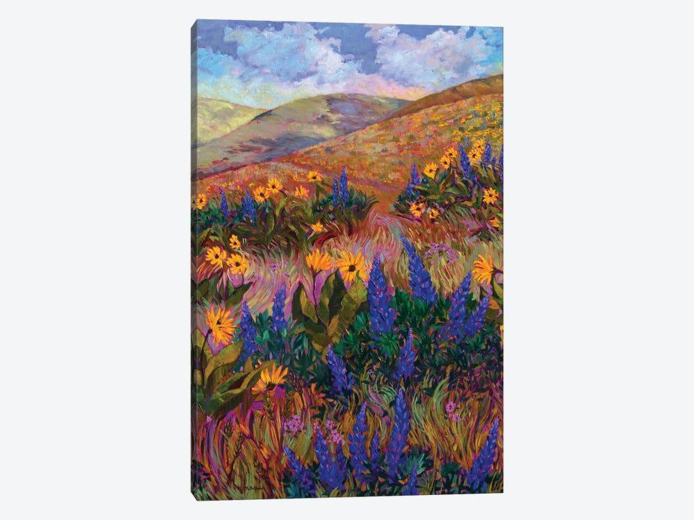 Columbia River Hills by Rebecca Baldwin 1-piece Canvas Artwork