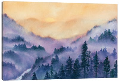 Mountain Morning Canvas Art Print