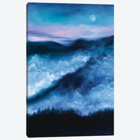 Night's End Canvas Print #RBC36} by Rebecca Baldwin Canvas Art Print