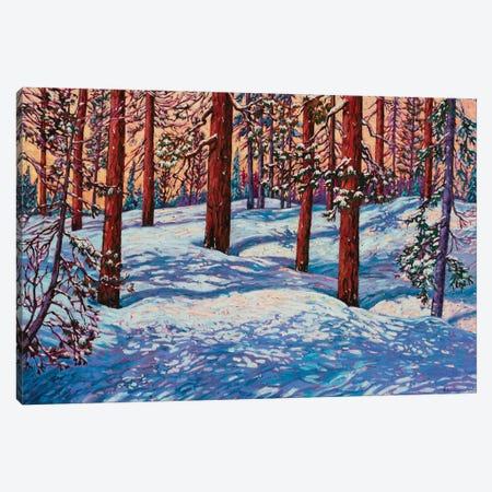 Perfect Mountain Day Canvas Print #RBC37} by Rebecca Baldwin Canvas Print