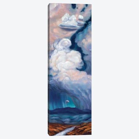 Purple Rain Canvas Print #RBC39} by Rebecca Baldwin Canvas Artwork