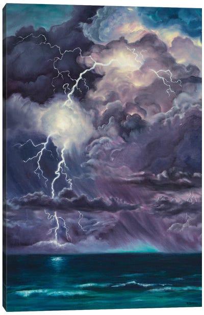 Purple Storm Canvas Art Print