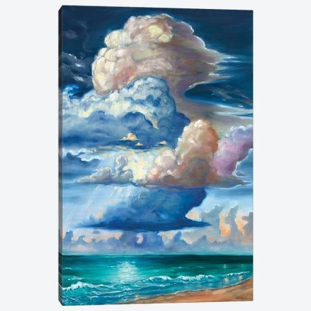 Secret Sea Canvas Print #RBC43} by Rebecca Baldwin Art Print