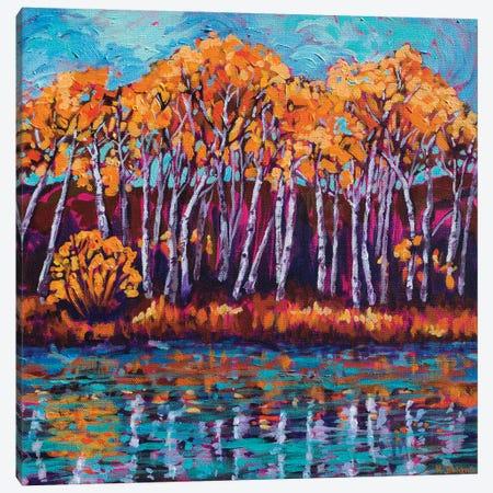River Song Canvas Print #RBC44} by Rebecca Baldwin Canvas Wall Art