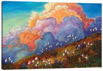 Skyline Bear Grass Canvas Art Print