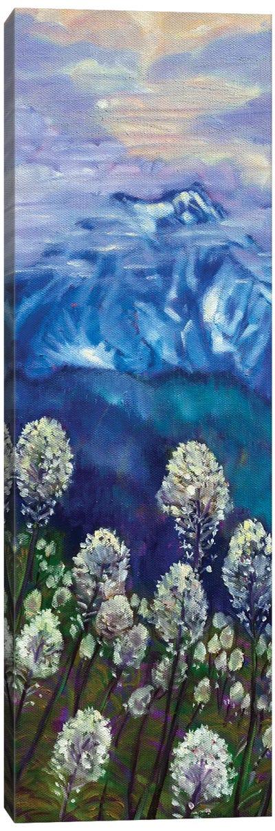 Spring Bear Grass Canvas Art Print