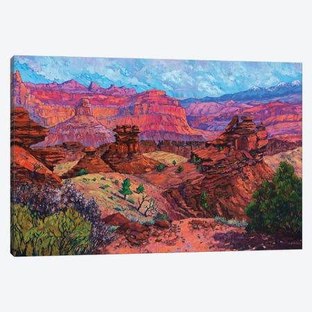 Sunset Point Canvas Print #RBC50} by Rebecca Baldwin Canvas Artwork