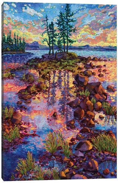 Waldo Lake Reverie Canvas Art Print