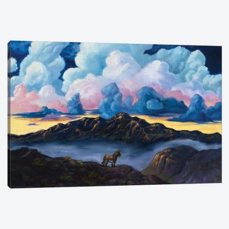Wild And Free Canvas Print #RBC54} by Rebecca Baldwin Canvas Print