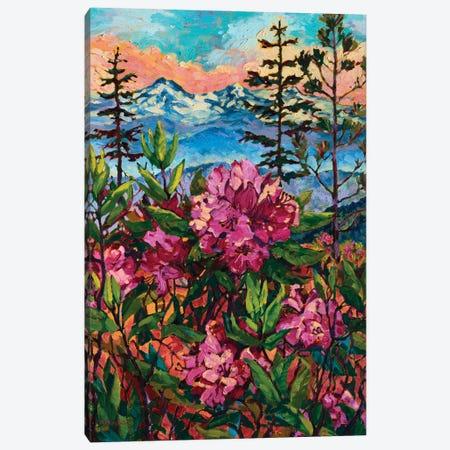 Wild Rhodies Canvas Print #RBC56} by Rebecca Baldwin Canvas Art Print