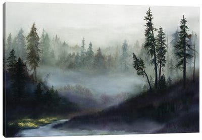 Silent Music Canvas Art Print