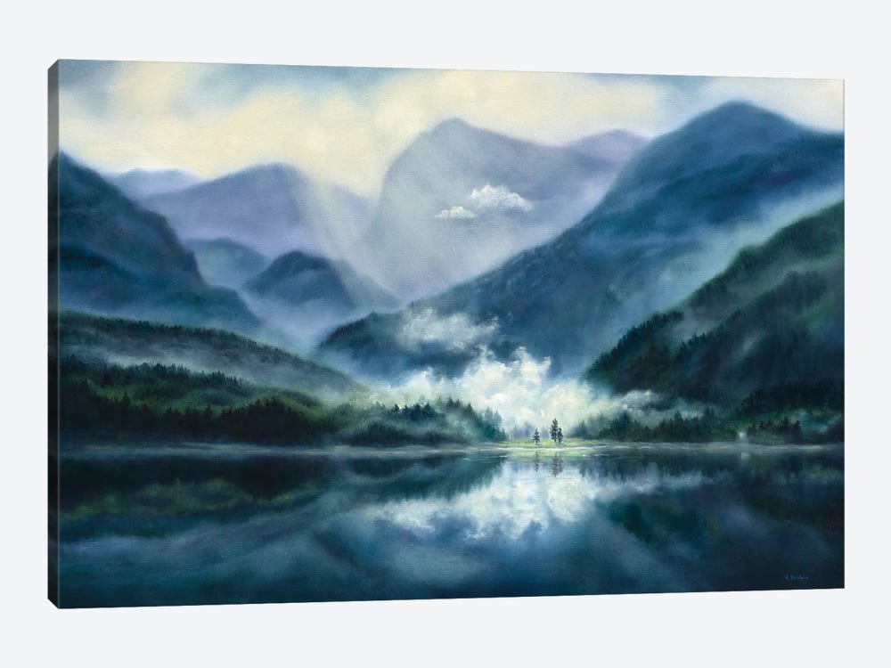 Solace by Rebecca Baldwin 1-piece Canvas Art Print