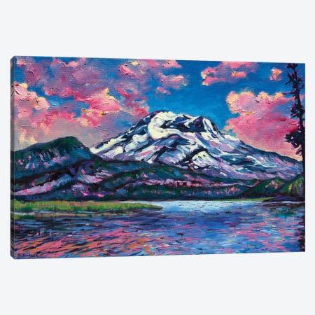 Pretty In Pink Canvas Print #RBC62} by Rebecca Baldwin Canvas Print