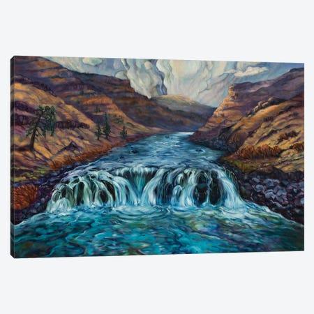 Canyon Clouds Canvas Print #RBC6} by Rebecca Baldwin Canvas Art Print
