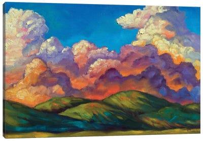 Cloud Sherbet Canvas Art Print