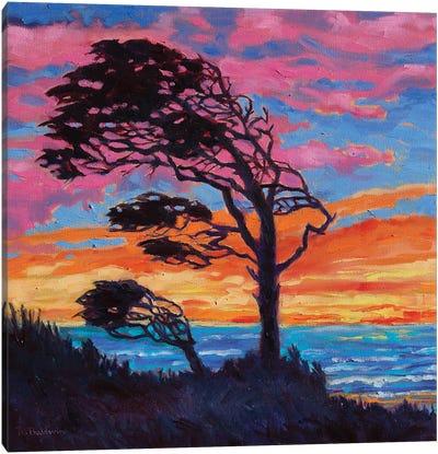 Coastal Tree Canvas Art Print