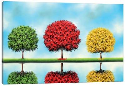 Beneath Blue Skies Canvas Art Print
