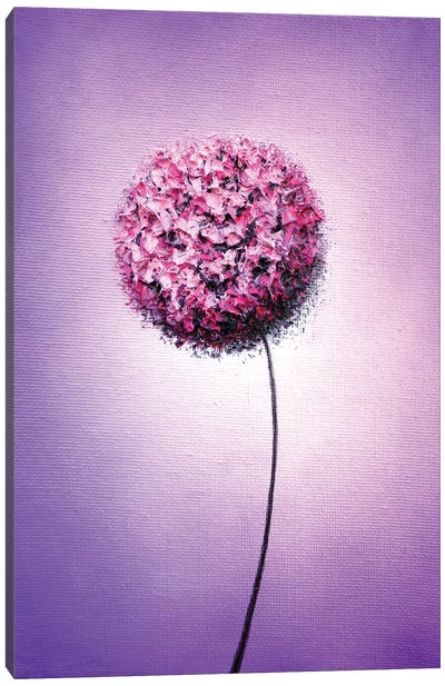 Blissful Bloom Canvas Art Print