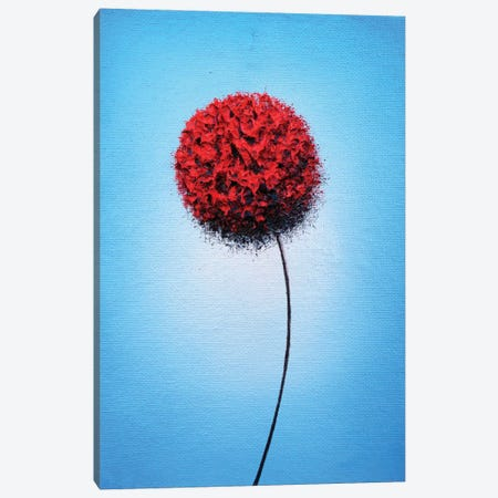 Boldly Blooming Canvas Print #RBI102} by Rachel Bingaman Canvas Wall Art