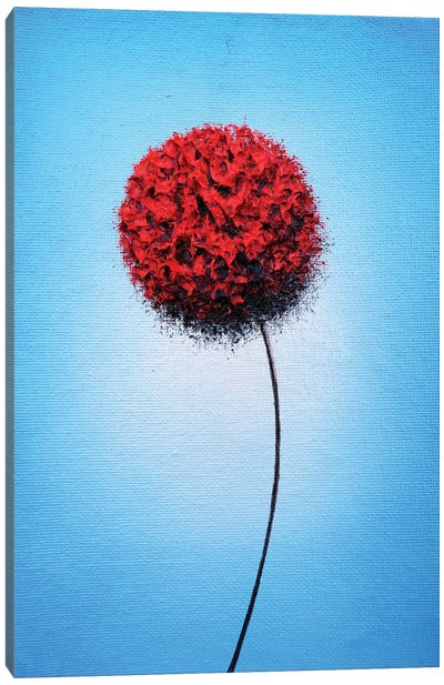 Boldly Blooming Canvas Art Print
