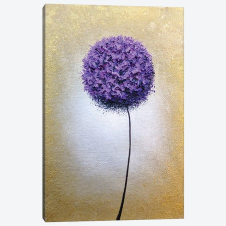 Glorious Bloom Canvas Print #RBI109} by Rachel Bingaman Canvas Art