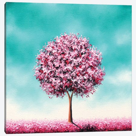 Beauty In The Bloom Canvas Print #RBI10} by Rachel Bingaman Canvas Artwork