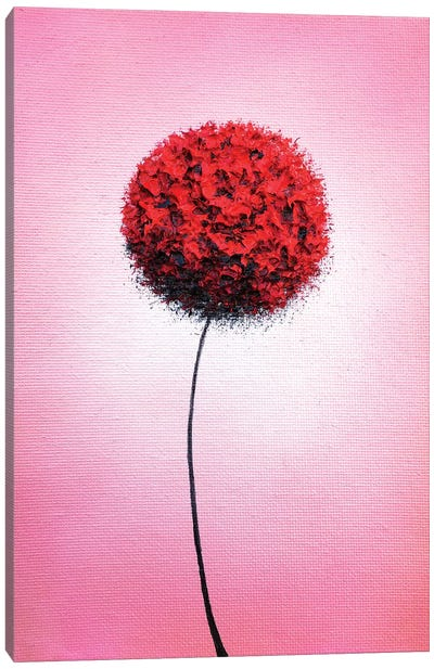 Love's Blooming Canvas Art Print