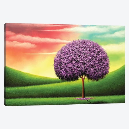 Present Peace Canvas Print #RBI116} by Rachel Bingaman Canvas Wall Art