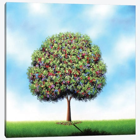 All To Peace Canvas Print #RBI131} by Rachel Bingaman Canvas Art Print