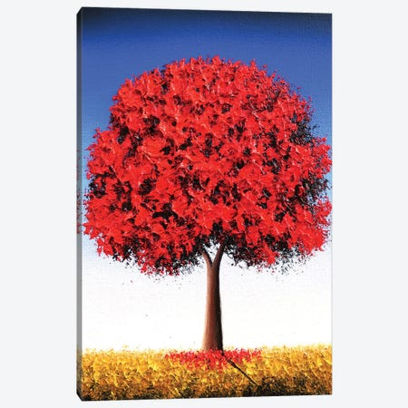 Autumn's Stand Canvas Print #RBI133} by Rachel Bingaman Canvas Print