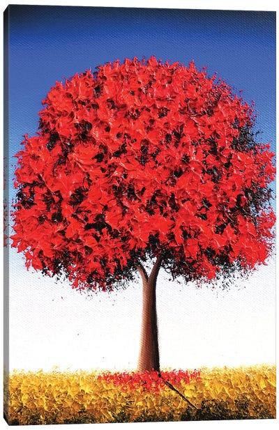 Autumn's Stand Canvas Art Print