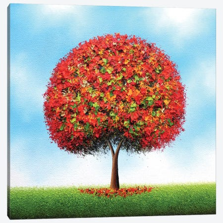 Awakened Canvas Print #RBI134} by Rachel Bingaman Canvas Wall Art