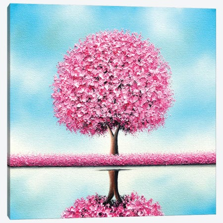Beneath The Bloom Canvas Print #RBI135} by Rachel Bingaman Canvas Art